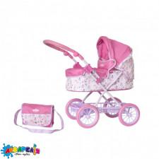 BABY BORN 1423568 Коляска для ляльки - ПРОМЕНАД (складна, з сумкою)