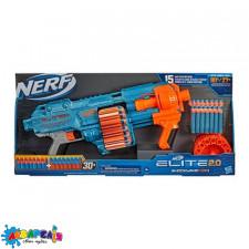 """Бластер """"NERF"""" з поролоновими кулями Еліт 2.0 бластер Шоквейв"""