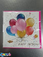 Листівка  ручна робота  FW-20-113-13 с днем рождения