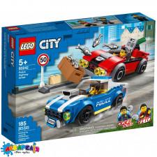 LEGO City Конструктор Поліцейський арешт на автостраді 60242