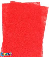 Набір сизалі червоного кольору, 20 * 30 см, 5 аркушів