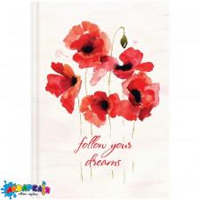 *Щоденник 2019 Стандарт Графо Flowers