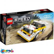"Конструктор LEGO Speed Champions ""1985 Audi Sport quattro S1"" арт.76897"
