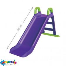 Гірка велика для катання  Фіолетова 140см. 0140/10  80*43*25 см