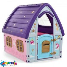 Будиночок 23-561 дитячий, пластиковий, рожево-фіолетовий, кор., 102-90-109 см.