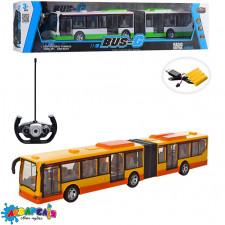 Автобус 666-676A радіокер., акум., USB, 2 кольори, світло, кор., 57-12.5-12 см.