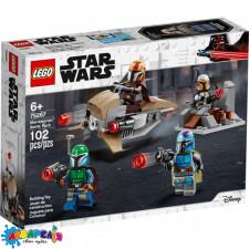"""Конструктор LEGO Star Wars """"Бойовий загін мандалорців"""" арт.75267"""