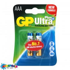 *Батарейка мініпальчикова AAA GP Alkaline Plus Ultra LR03 C2  (НЕ ЗАМОВЛЯТИ)