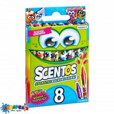SCENTOS 40279 Набір ароматних воскових олівців-міні - ДРУЖНЯ КОМПАНІЯ (8 кольорів)