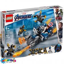 "LEGO Super Heroes Конструктор ""Капітан Америка: напад вершників"" 76123"