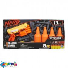 """Бластер """"NERF"""" з паролоновими кулями АЛЬФА СТРАЙК FANG+ мішені арт.E8308EU4"""