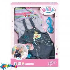 BABY BORN 822210 Набір одягу для ляльки - ДЖИНСОВИЙ НАСТРІЙ