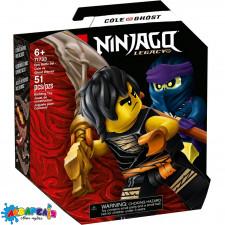 """Конструктор LEGO Ninjago """"Грандіозна битва Коул проти воїна-привида"""" арт.71733"""