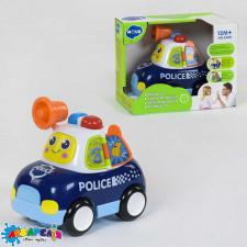 """HOLA Машина музична""""Поліція"""" світовий та звуковий єфект,на батар.,в короб."""