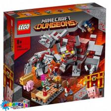 """Конструктор LEGO Minecraft """"Бій за червонокамінь"""" арт.21163"""