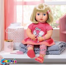 BABY ANNABELL 700662 Інтерактивна лялька - ПОВТОРЮШКА ДЖУЛІЯ (43 cm, озвучена)