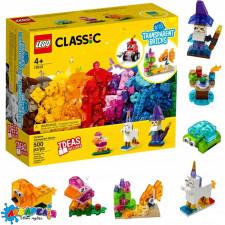 """Конструктор LEGO Classic """"Прозорі кубики для творчості"""" арт.11013"""
