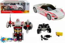 Іграшка трансформер р/к MZ  арт. 2337P  Porsche  46*22*18,5см, 1:14, акум