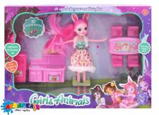 """Лялька з аксесуарами """"Enchantimals"""" (коробка)  ТМ333-1D/2D р.28,5*18.5*5.5 см"""