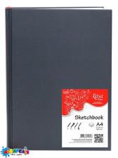Блокнот A4 96 арк. (21х29,7 см) 100 г/м. сірий ROSA Studio