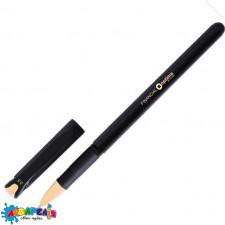 Ручка гелева OPTIMA FINANCIAL 0,5 мм пише чорним