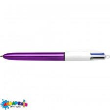 Ручка 4 Колорс Шайн Пур BIC