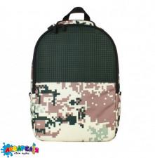 Рюкзак Upixel Camouflage-Зелено-коричневий