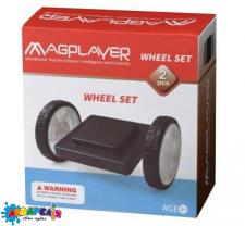 Конструктор Magplayer Платформа на колесах 2 ел. MPB-2