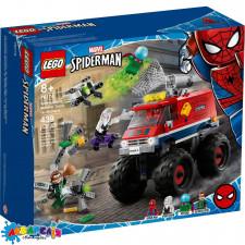 "Конструктор LEGO Super Heroes ""Вантажівка-монстр Людини-Павука проти Містеріо"" арт.76174"