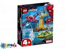 "LEGO Super Heroes Конструктор ""Людина-Павук: Доктор Восьминіг викрадає діаманти"" арт. 76134"