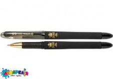 Ручка гелева OPTIMA CROWN 0,5 мм, пише синім