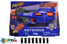 """Бластер """"NERF"""" з поролоновими кулями (коробка) 7022 р.29*5*20см."""