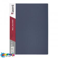 Дисплей-книга 20 файлів сіра