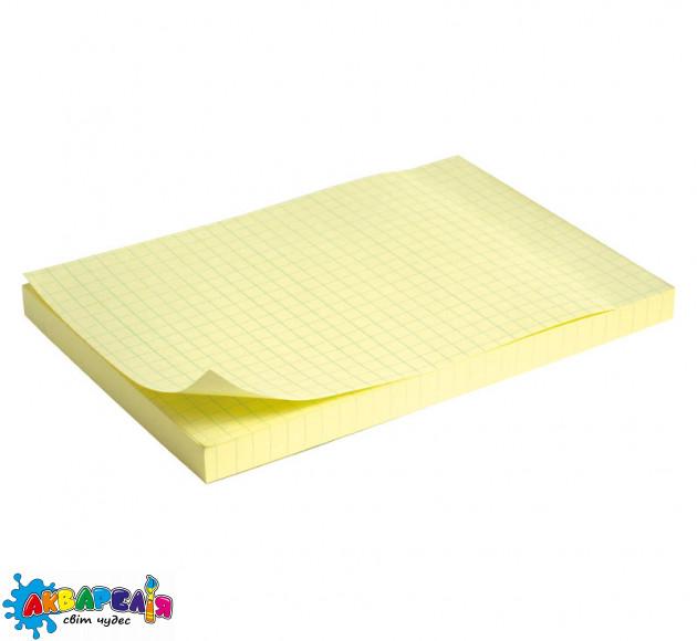 Блок паперу з клейким шаром Delta 100x150 мм 100 арк. кліт.
