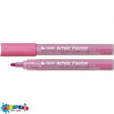 *Маркер акриловий STA 1000 2-3 мм темно-рожевий