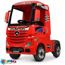 Вантажівка M 4208EBLR-3 радіокер.2,4G, 2мот.35W,1акум.12V10AH,шкіра,EVA,MP3,USB,муз.,світло,червоний