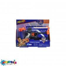 """Бластер """"NERF"""" з поролоновими кулями (коробка) 7018 р.24*4,5*20см."""