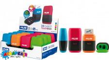 "Гумка+точилка двійна""Compact Touch Duo""ТМ""MILAN""6.7*4*2,5см.mix"