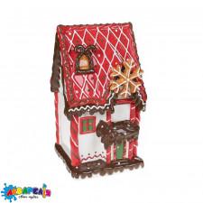 Банка для солодощів керамічна Будиночок з печива 3.2л