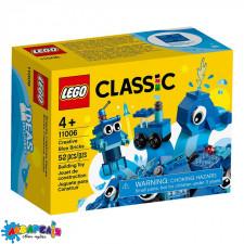 """Конструктор LEGO Classic """"Кубики для творчості сині"""" арт.11006"""