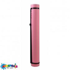 """Тубус """"Santi"""" розсувний, діаметр 8,5 см, довжина 65-110 см. колір рожевий."""