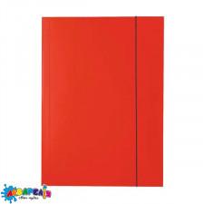 Папка для картона на гумці PENMATE А4 глянцева червона