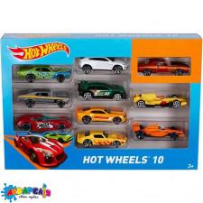Hot Wheels Автомобіль базовий 10 шт.арт.54886