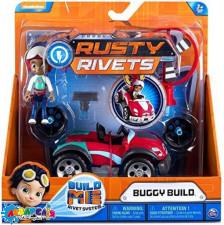 Іграшка фігурка з машинкою арт. 6033999 Rusty Rivets, 2 види