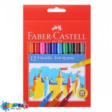 "Фломастери 12 кол. ""FELTTIP"" Faber-Castell 554212"
