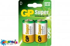 Батарейка GP Alkaline LR20 C2