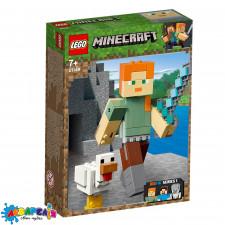 LEGO Minecraft Конструктор Алекс із курчам серії ЛЕГО Майнкрафт™ 21149