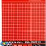 Блокнот А6 60 арк. SPIRAL BLOCK спір. карт.обкл. жорст.підкл.