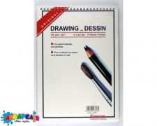 *Альбом для малювання В3 15 арк. на спіралі (для сух.и аквар.рис-ия) 140 г/м кв. 21*29,7 см