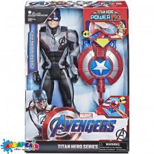 POWER FX 2.0 E3301 Ігрова фігурка Месники Капітан Америка  з активатором